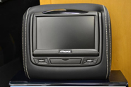 MD Headrest DVD Front View