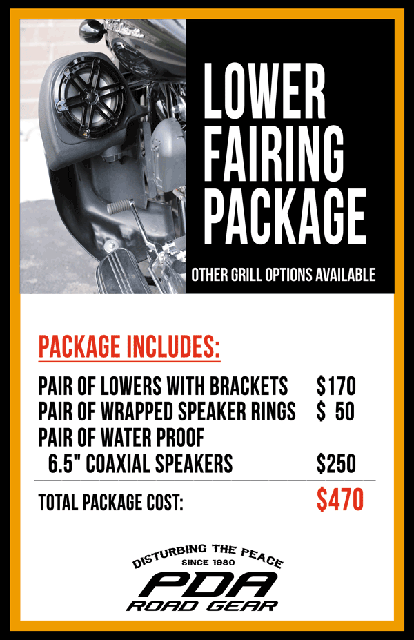 Lower Fairing Package